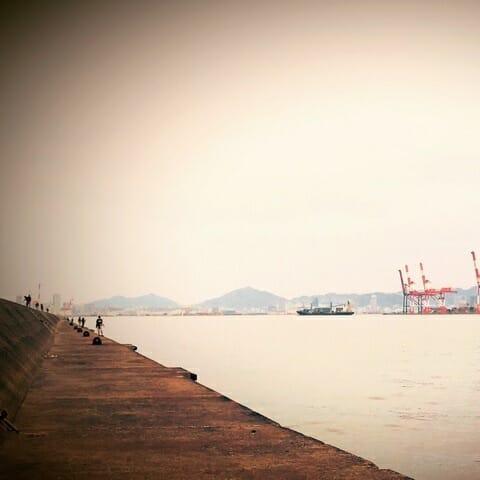 神戸第七防波堤